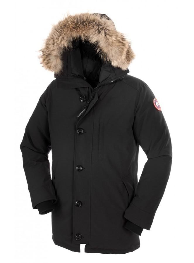 Мужская парка Canada Goose черная