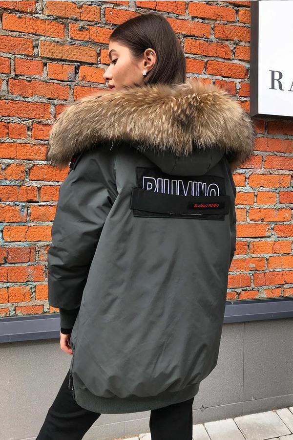 Куртка парка известного бренда